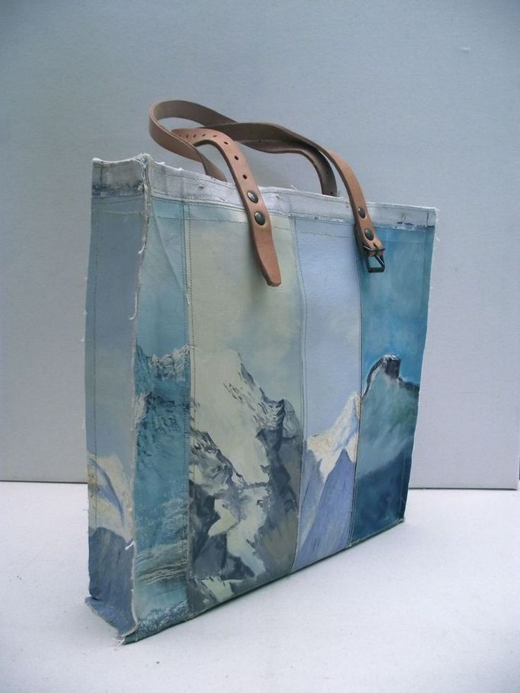 Swarm — Painting Bag - Mountain Study (free shipping) So me