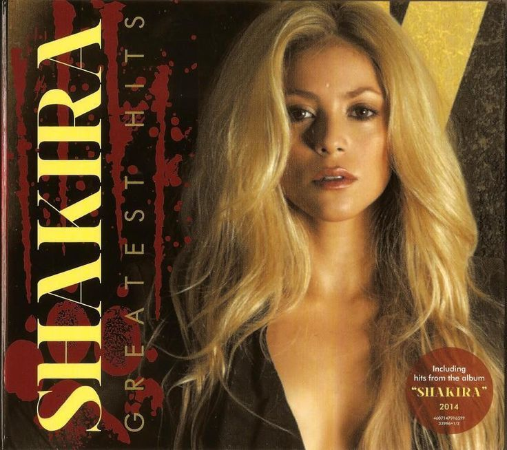 2CD SHAKIRA  HITS COLLECTION  2CD NEW AND SEALED BEST SONGS