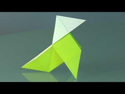 Une cocotte en papier, Comment faire origami - YouTube
