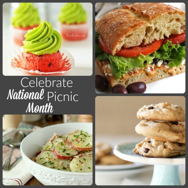 Need Picnic Menu Ideas to Celebrate National Picnic Month? These Picnic Menu Ideas will have you ready to pack your basket and head outdoors!