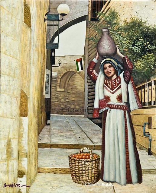 يام زمان - رسم الفنان ابراهيم شلبي