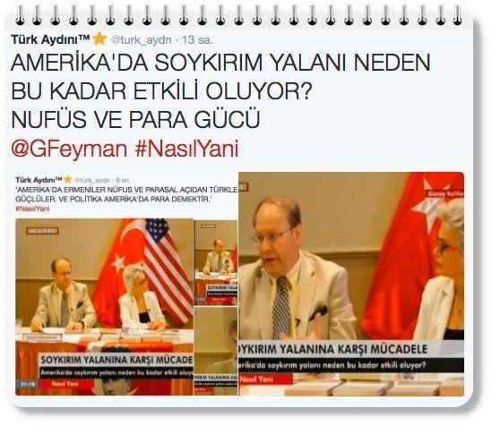 RT: 'AMERİKA'DA SOYKIRIM YALANI NEDEN BU KADAR ETKİLİ OLUYOR? ERMENİ NÜFUSU VE PARA GÜCÜ' @ethocide Alp Icoz (@AlpIcoz) | Twitter
