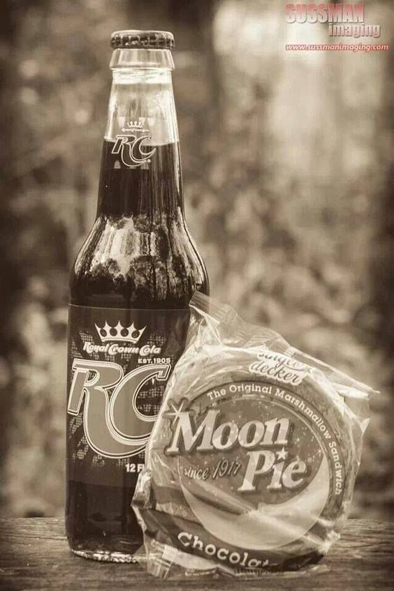 RC cola and Moon Pies! Southern living