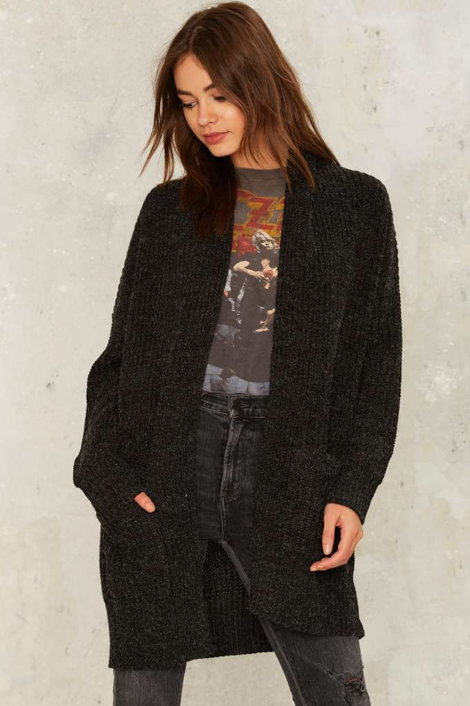 Nasty Gal Collection Warming Trend Chunky Cardigan | Shop Clothes at Nasty Gal!