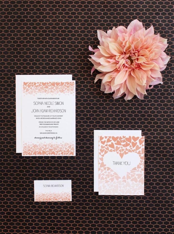 free printable wedding thank you cards with photo%0A     best Freebies  u     Free Printables images on Pinterest   Marriage  proposals  Wedding centerpieces and Easy weddings