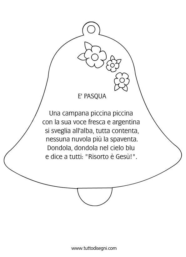 Poesia di Pasqua - TuttoDisegni.com