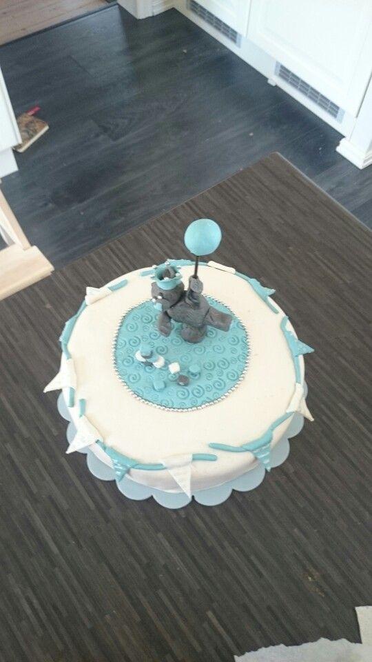 Babyshower kake