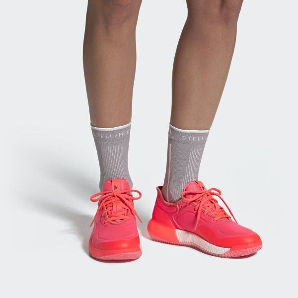 Boost shoes, Pink adidas