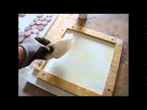 How To Marbleize Concrete Flooring In Kitchen