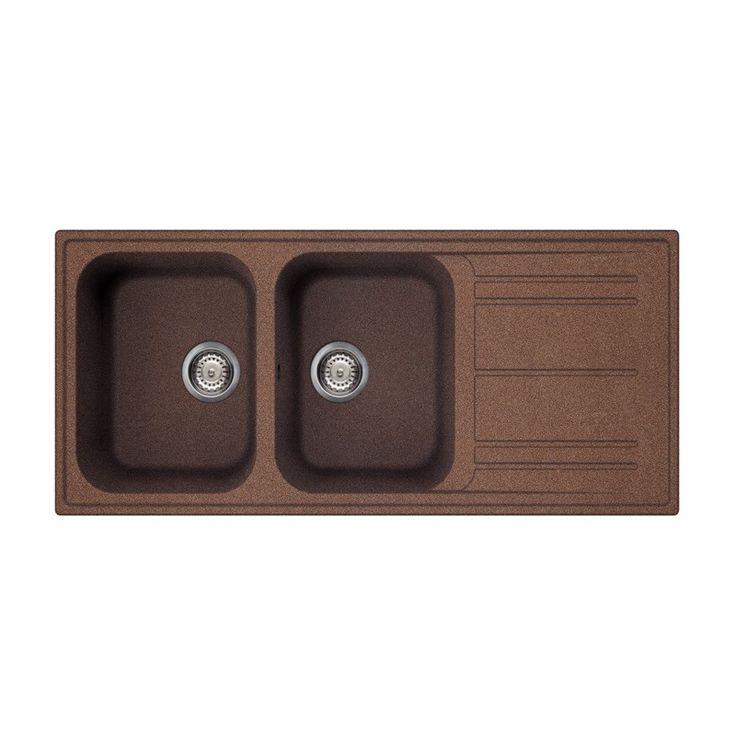 18 best composite designer kitchen sinks images on pinterest smeg kitchen sink lz116ra rigae 2 bowls copper smeg home workwithnaturefo