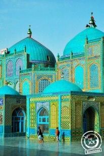Un rincón del mundo llamado... Blue Mosque en Mazari Sharif Afganistan