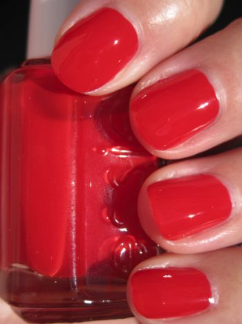 Essie Lollipop-My favorite red, also the same shade Olivia P. uses.