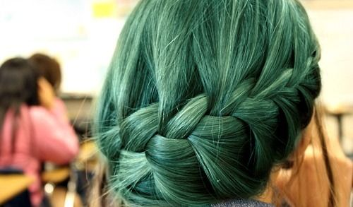 Green!: Braids Hairstyles, Waterf Braids, Wedding Hair, Chic Hairstyles, Inspiration Pictures, Hair Style, Side Braids, Side French Braids, Girls Hair