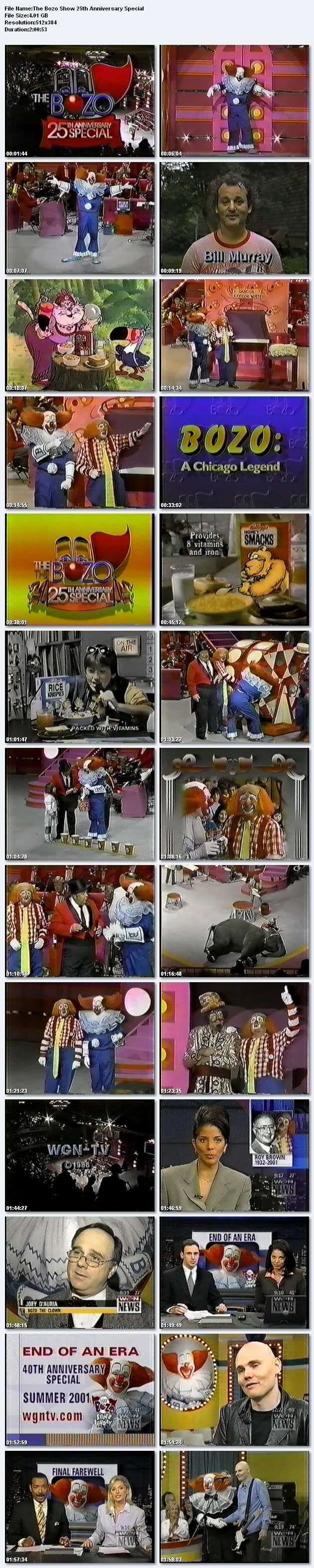 Bozo, Gar And Ray: Wgn Tv Classics | ... CIRCUS/BOZO SUPER SUNDAY SHOW-1960's/1970's/1980's/1990's/2000 TV SHOW