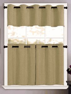 Sonoma Grommet Curtains Consists Of Variegated Solid Color Yarns That Are Combined In A Basket