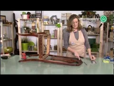 Reciclarte Cómo reciclar una silla clásica