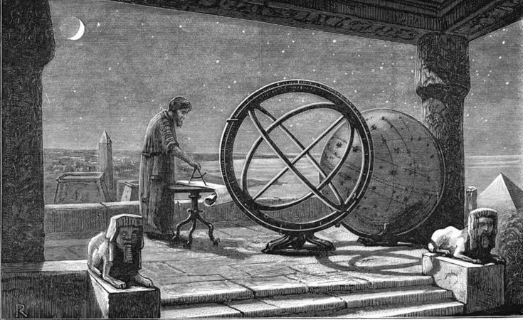 Ancient ideas about astronomy were very different from what we know today