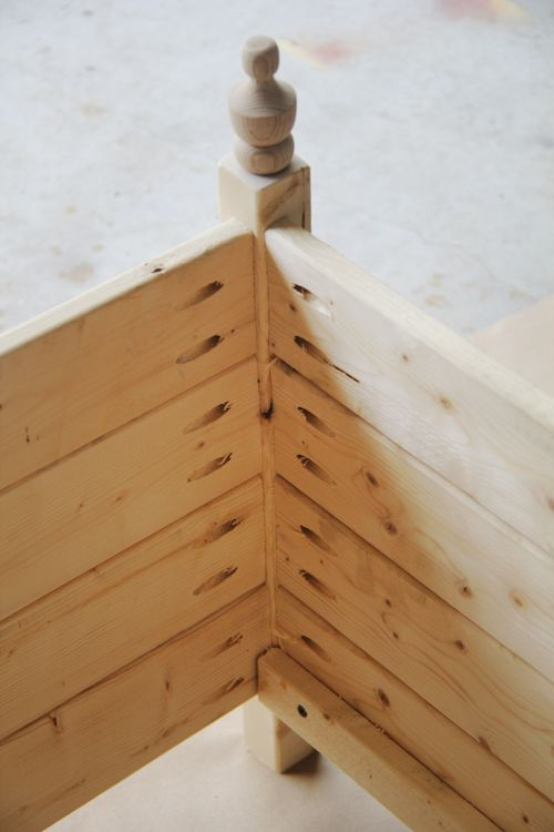 Building a planter box with a Kreg Jig, could use the same principal to make a bed, bookcase, etc.