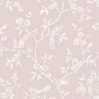Fine Decor Beatrice Wallpaper - Pink