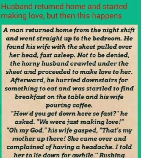 HUSBAND WIFE JOKES & FUNNY STORY - A man was surprised to see his wife in kitchen