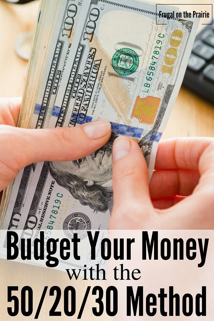 When it comes to budgeting we all have to start somewhere. Here's how to budget with the 50/20/30 Rule.