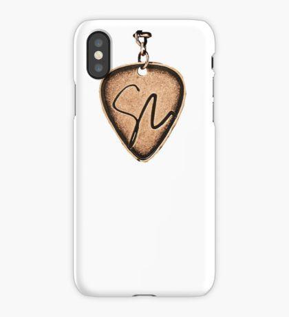 Vinilo o funda para iPhone Shawn Mendes guitarpick