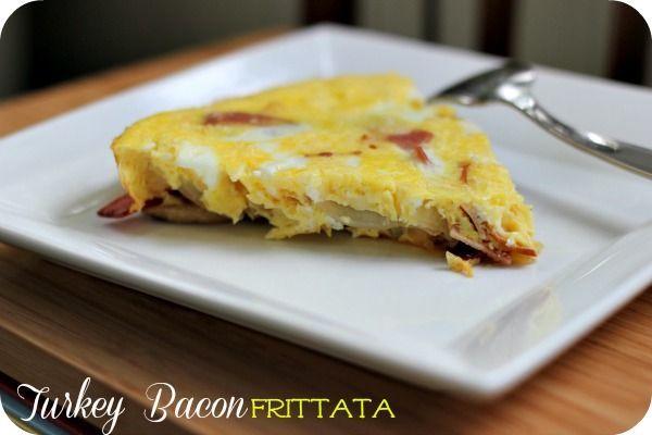 Turkey Bacon Frittata