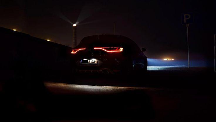 Laser lights  #renaultsport #gt