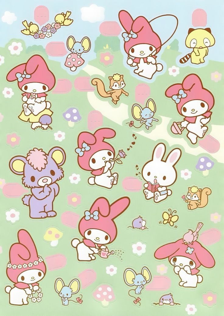 My Melody - Sanrio - Stickers