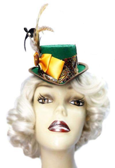 Mad Hatter Fascinator Top Hat  24689f4350f