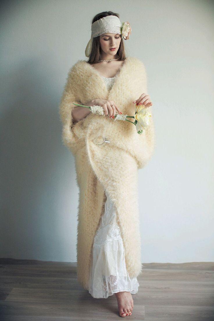 """Купить Пальто-кардиган """"Шампань"""" - свадьба, свадебная накидка, свадебное пальто, бежевый, цвет шампань"""