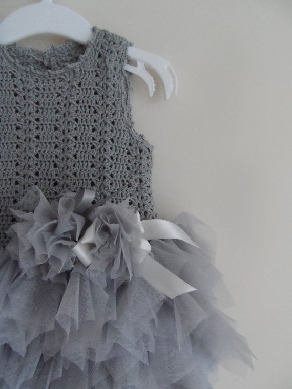 Baby Girl Tutu Dress. Tulle Dress with Stretch от AylinkaShop, $60.00
