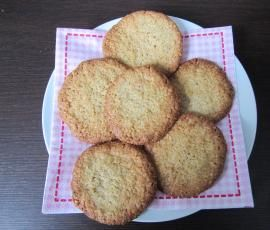 Rezept Schwedische Haferkekse von Sandfrauchen - Rezept der Kategorie Backen süß