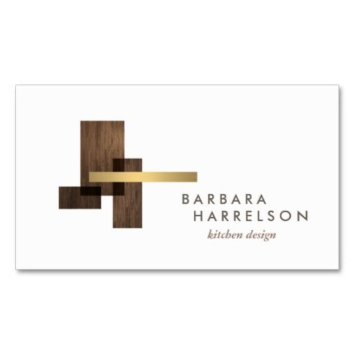 24 best business cards for architects architecture images for Kitchen designs logo
