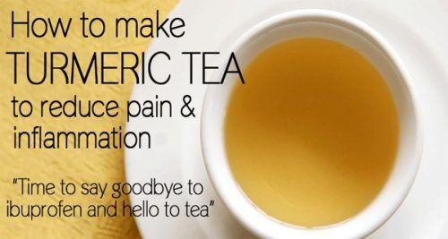 Homemade Turmeric Recipe to Relieve Pain Better Than Ibuprofen!
