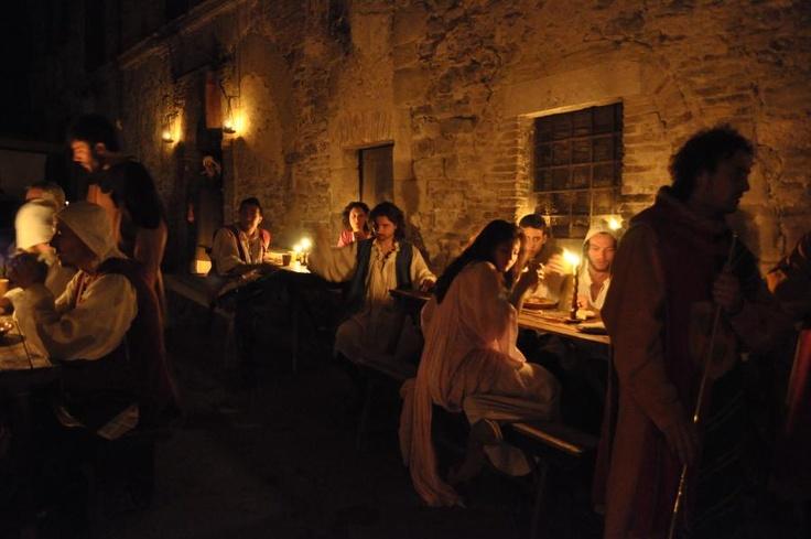 26-28 aprile: L'apertura della taverna della Gaita San Giorgio per la Primavera Medievale e la Notte Medievale (BEVAGNA)