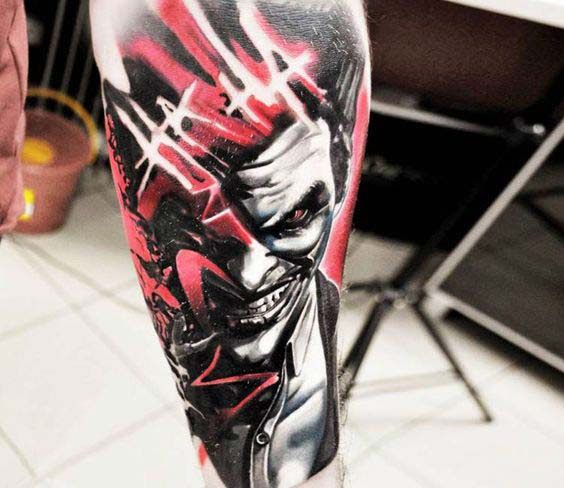 50 Crazy Joker Tattoos Designs and Ideas for Men and Women #designs # …  – tattoo idee