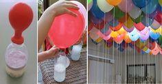 """1 – Introduzione Compleanno a sorpresa e vi siete dimenticati proprio dei """"classici"""" palloncini ad elio volanti? E' Domenica, oppure tutti i negozi specializzati sono chiusi?! Niente paura! La soluzione """"fai da te"""" (senza bisogno di Elio) è più semplice di quanto crediate, poco costosa, veloce ed efficiente. 2 – Materiali necessari Per riempire d'aria circa 20 palloncini …"""