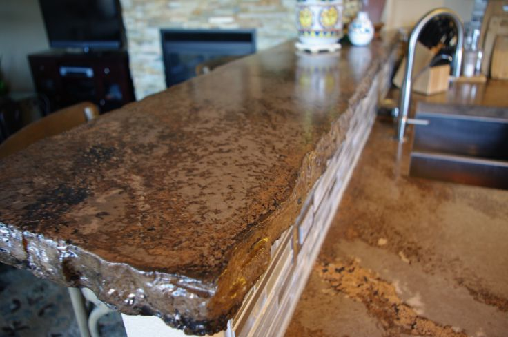 Broken Flagstone Bar The Rustic Countertop Pinterest