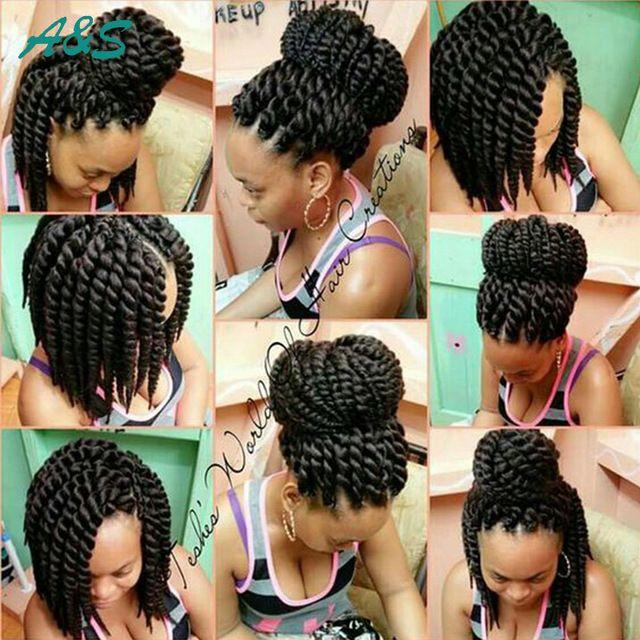 "14"" Havana Mambo Twist Crochet Braids synthetic hair for braid freetress hair expression braiding hair freetress crochet braid"