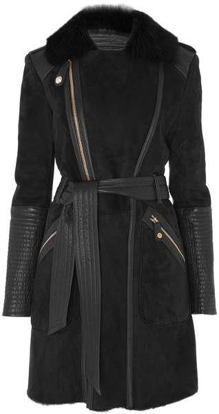 TEMPERLEY LONDON Classic Odele Sheepskin Coat