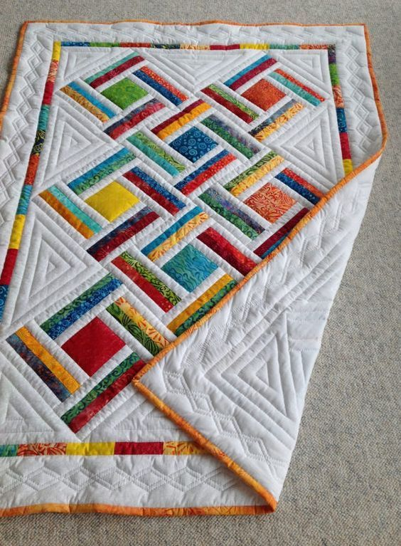 Baby Quilt Baby Shower Gift Lap Quilt