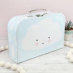 A Little Lovely Company Cloud Suitcase