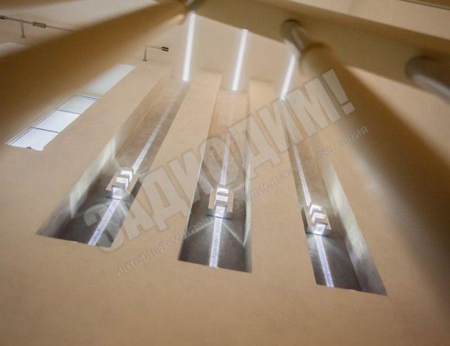 Светодиодное освещение в частном интерьере. (Дизайн GoldenHome)