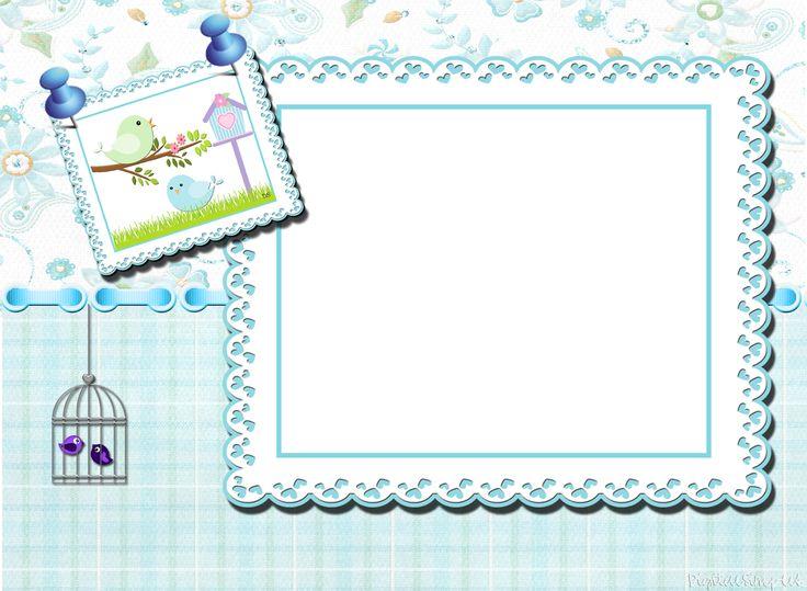 """Kit Personalizado Tema """"Passarinhos"""" para Menino - Convites Digitais Simples"""
