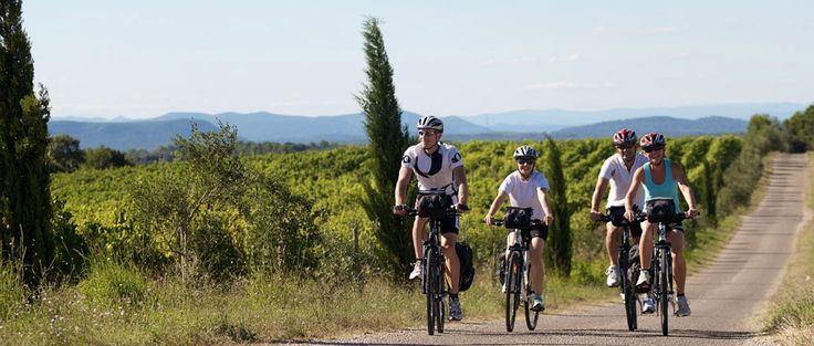 Discover France biking