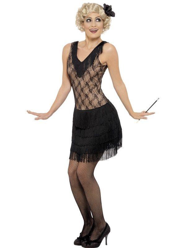 Kostium Jazz Girl 20's. Doskonały na imprezę w stylu lat XX-tych.