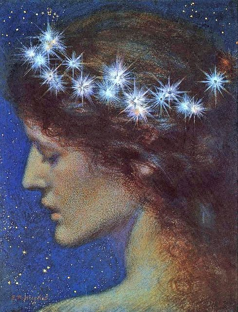 "Edward Robert Hughes (1851-1914), ""Night"":"