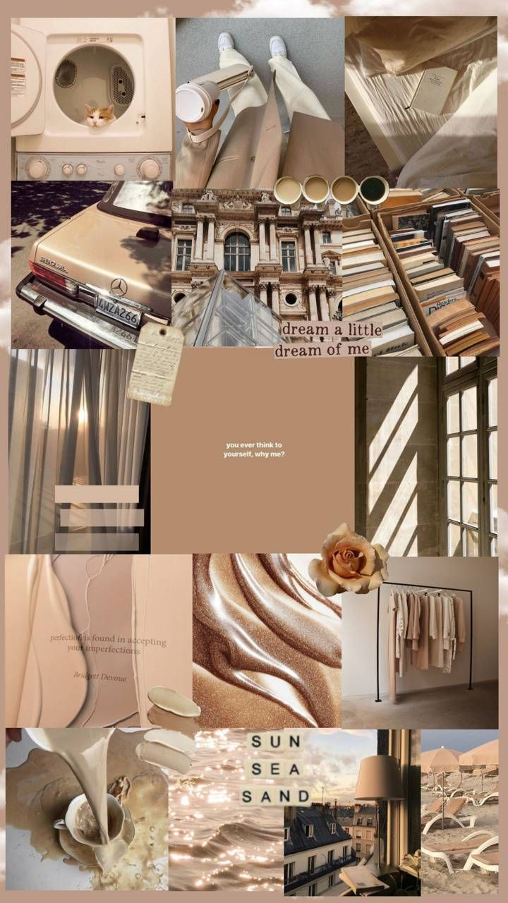 Beige wallpaper / nice/ aesthetic en 2021   Iphone fondos