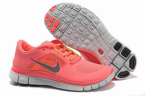 Mujeres Nike Free 5.0 V3 Zapatillas Pasteque Rojo